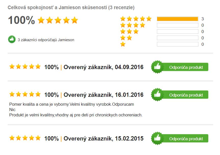 Jamieson Horčík - recenzie