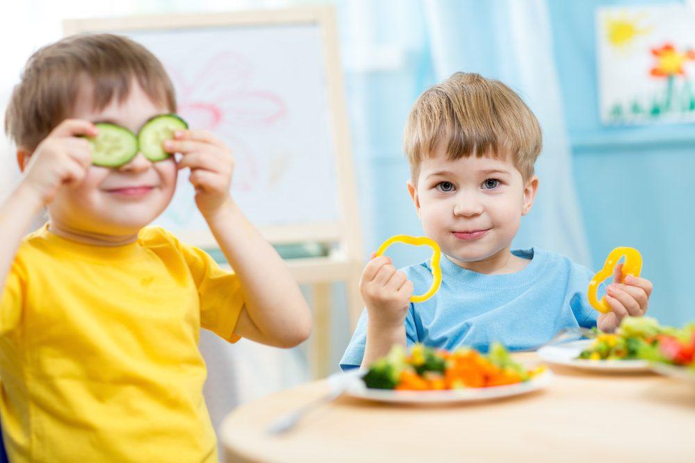 Nie všetky deti sú ochotné jesť zdravo