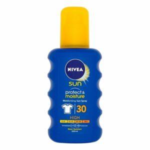 Nivea Sun Protect Moisture - hydratačný sprej na opaľovanie (SPF 30)