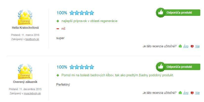 skúsenosti s prípravkom Extrifit Gela Gelatine 1000