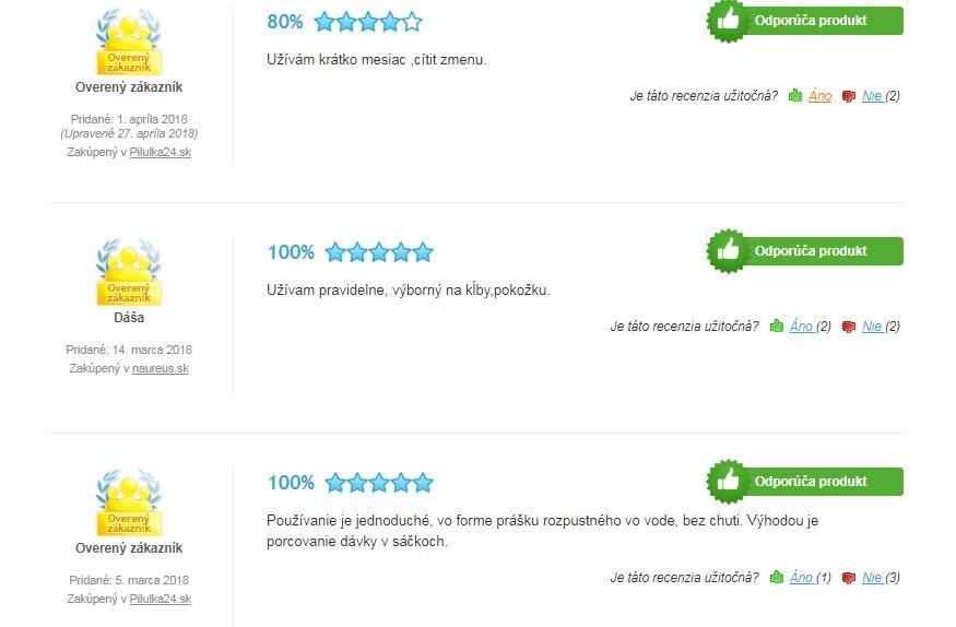 Inca Collagen - recenzie / hodnotenia