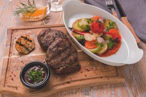 Steak s ratatouille