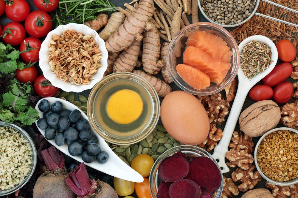jedlo vhodné pri MIND diéte