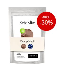 KetoSlim Advance proteínový kokteil na chudnutie recenzia