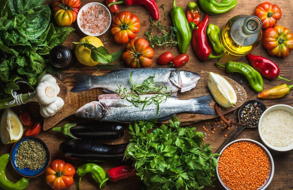 strava pri mediteránskej diéte