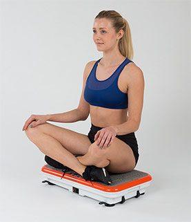 Gymbit Vibroshaper pasívne cvičenie