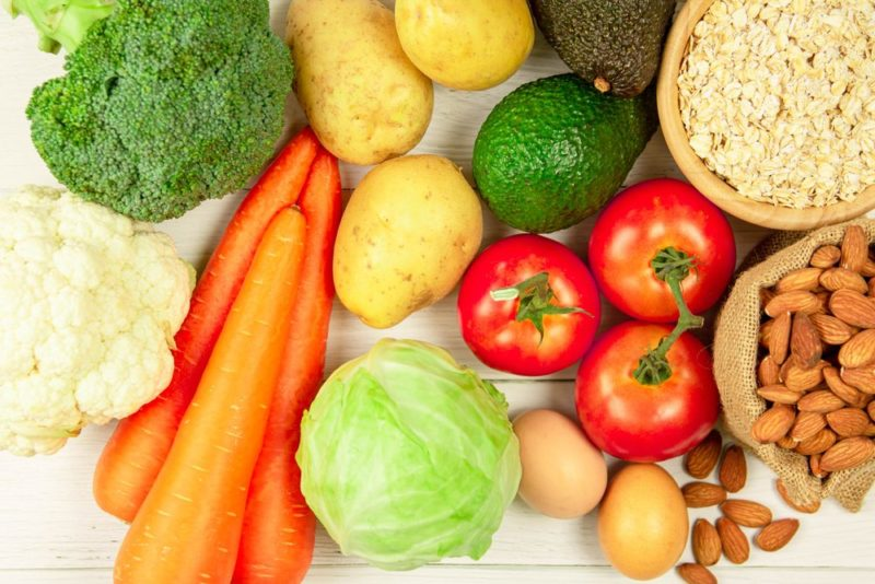 vhodné potraviny pri ovo-lacto diéte