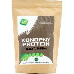 Vegan Fitness 100% Raw konopný protein 1000 g