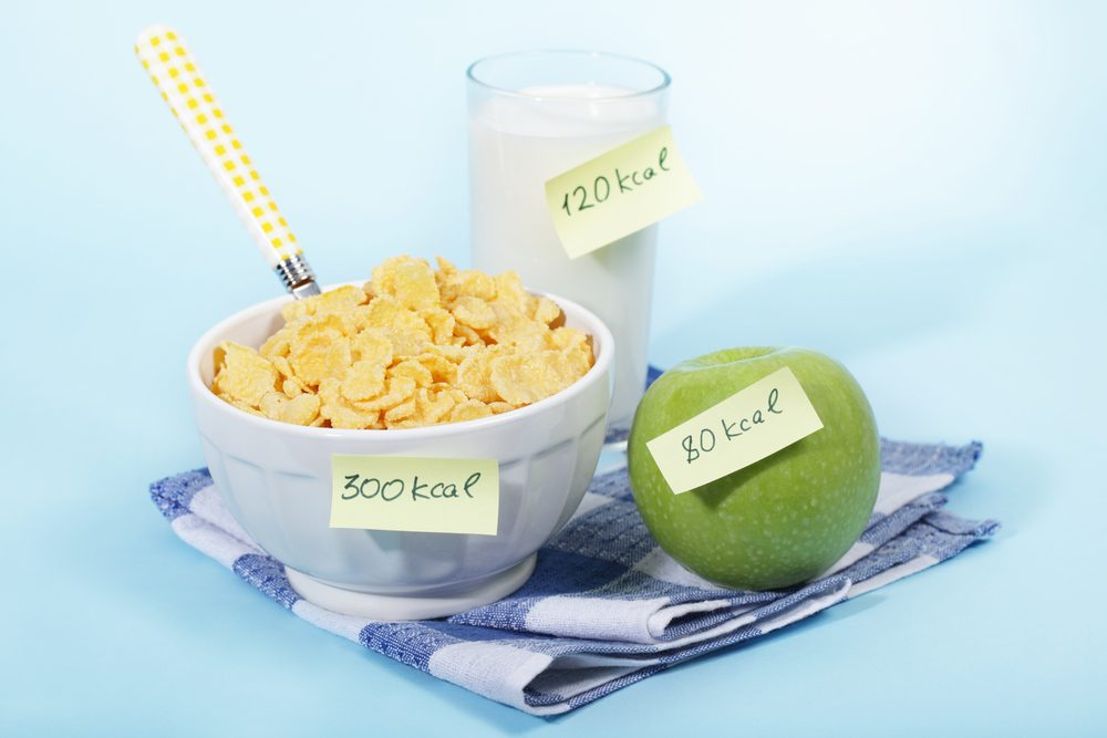 kalorické hodnoty potravín