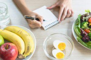 zapisovanie kalórií