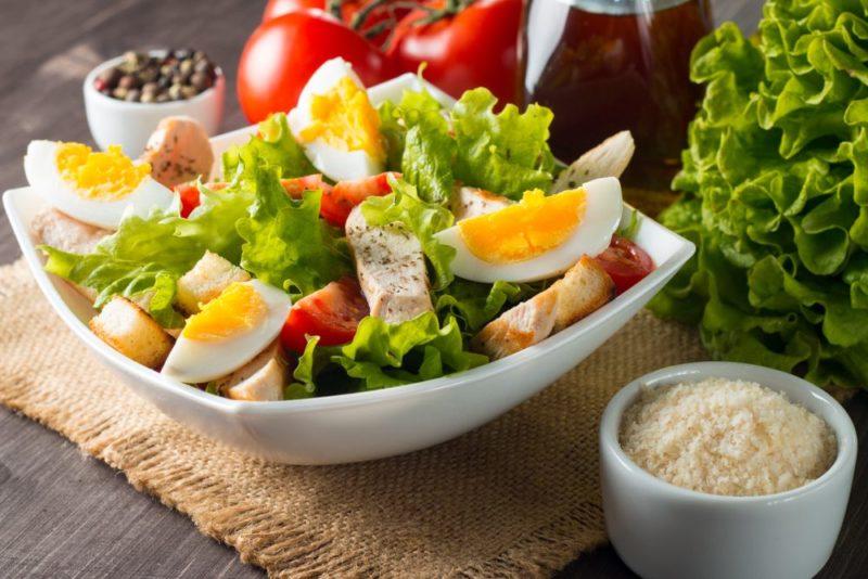 jedálniček pri vajíčkovej diéte