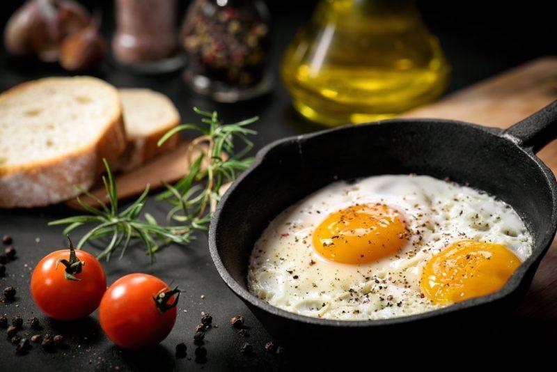 jedálniček pri vajíčkovej diéty