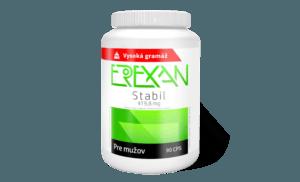 Erexan Stabil - dlhodobá podpora erekcie, recenzia
