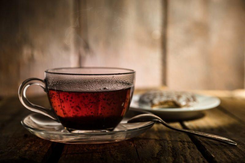 čierny čaj na chudnutie