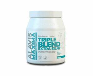 ALAVIS MAXIMA Triple Blend Extra Silný 700 g sa sladidlom z rastliny stévia