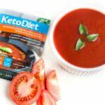 Proteínová polievka paradajková s rezancami (7 porcií)