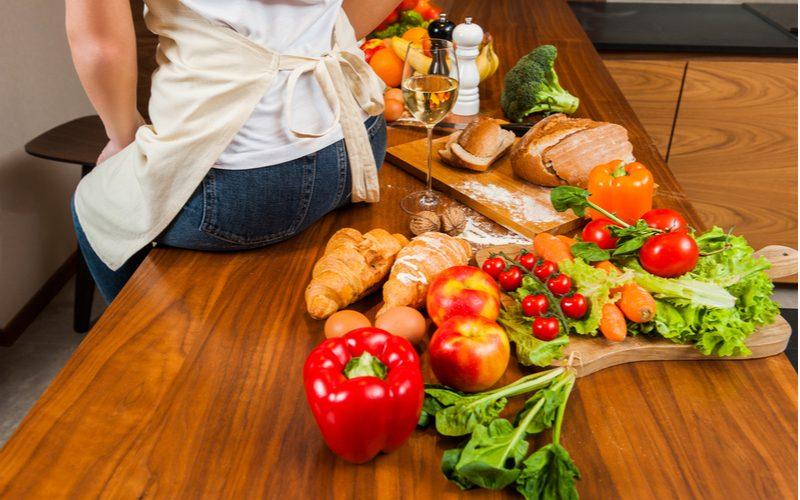 Správna strava (ovocie, zelenina, ľahké jedlá) pri metabolickej diéte