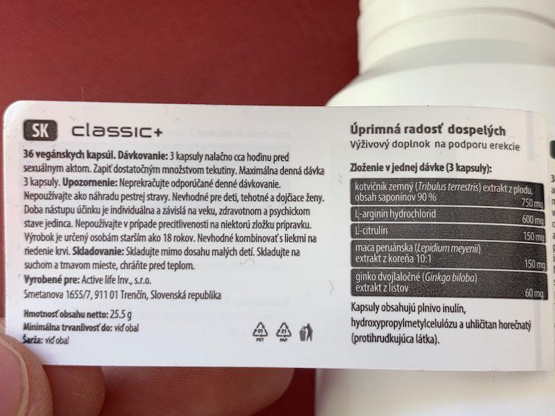 Zerex Klasik plus - dávkovanie, zloženie