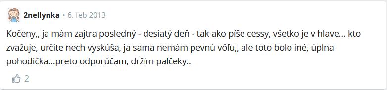 odporúčanie citrónovej diéty z fóra modrykonik.sk