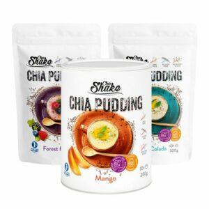 Chia puding – Chia Shake – Žite zdravo!