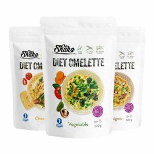Diétna omeleta – Chia Shake – Žite zdravo!