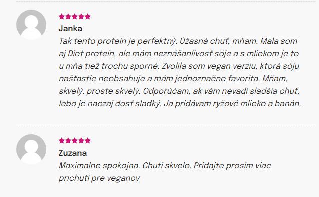 Skúsenosti s Chia Shake Vegan